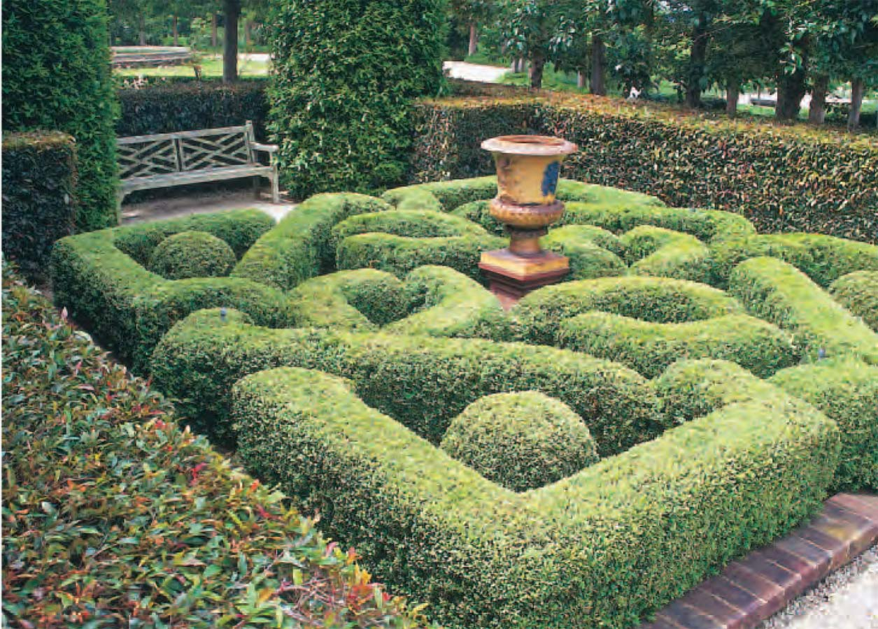 Creating a formal garden in a small space for Formal garden design