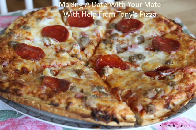 Let Tony's Pizza help you make a date with your mate #add #pmedia #bigpizzeriataste