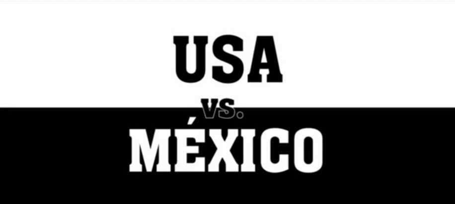mexico vs. united states essay The mexican-american war: arguments for and  where he wrote his essay civil  using the map of the united states of mexico and a contemporary map of the.