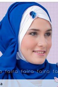 Faira Ciput Ninja NF-6 Putih Bunga (Toko Jilbab dan Busana Muslimah Terbaru)