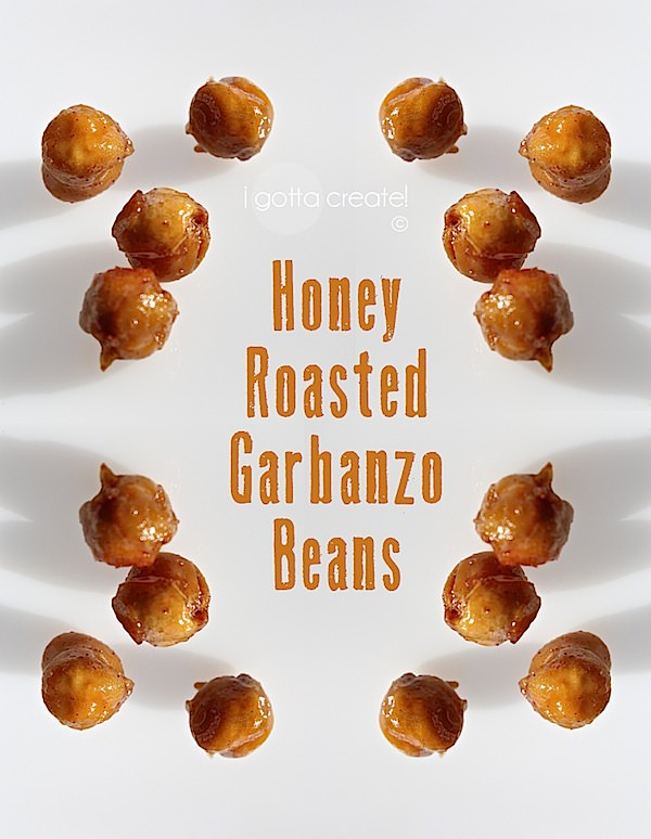 I pinned and tried this recipe for Honey Roasted #Garbanzo Beans and here is what you need to know. | Pinterest Projects at I Gotta Create!