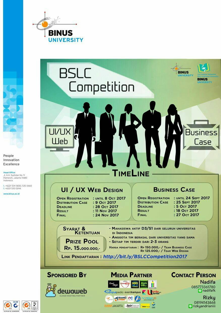 BSLC Competition 2017