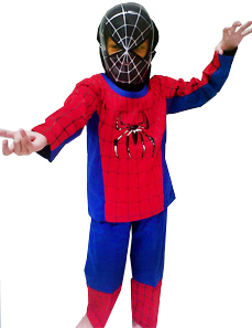 Kostum Superhero Spiderman Anak