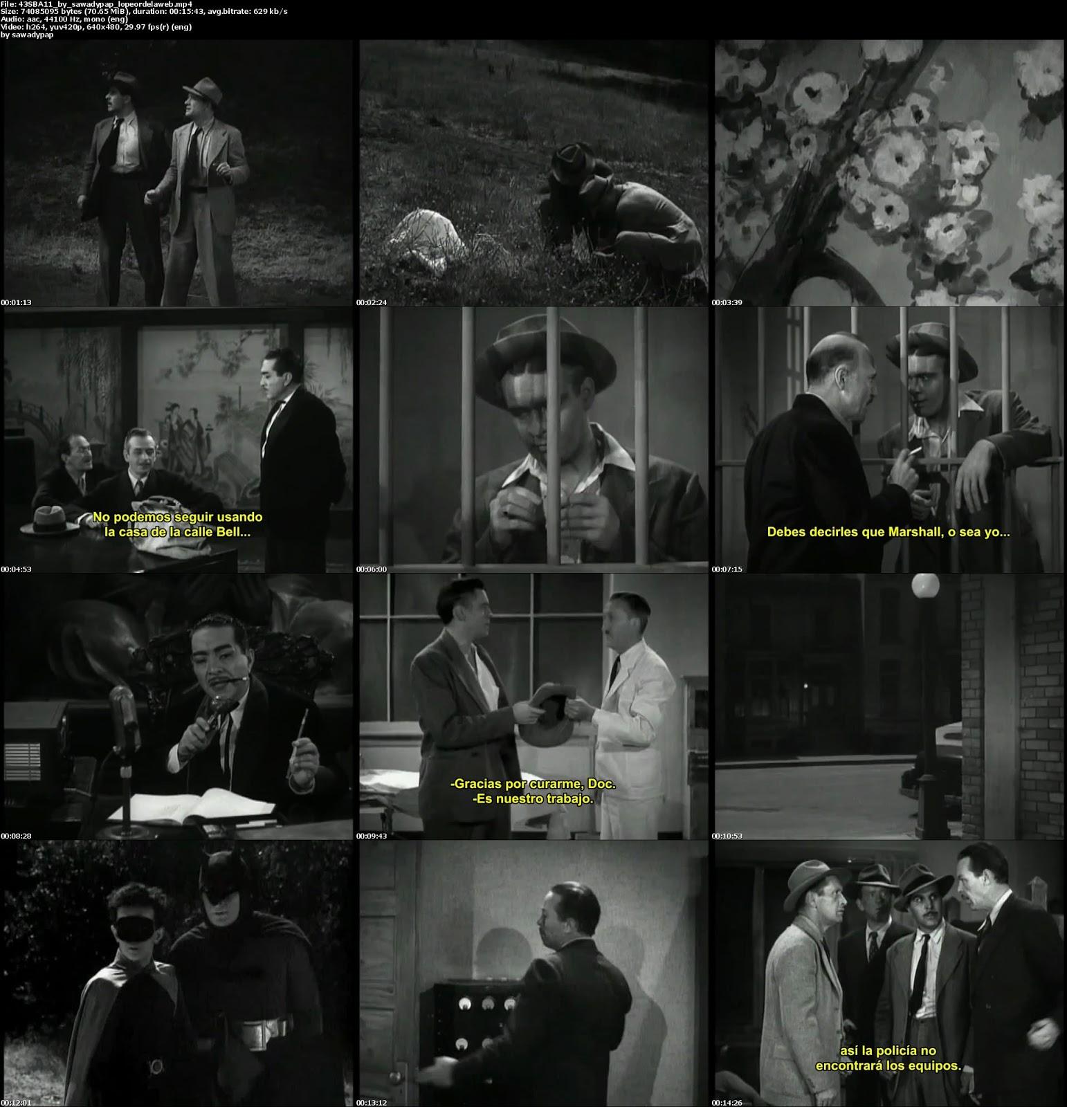 Serie The Batman [1943] [DVDRip][B&BN][Subtitulada]