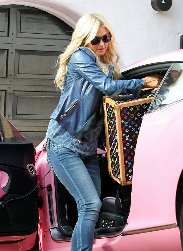 Paris Hilton in Beverly Hills