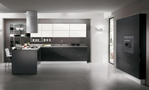 a continuacin fotos de diseos de cocinas italianas modernas en gris y blanco que pueden servirte de inspiracin para tu prxima decoracin