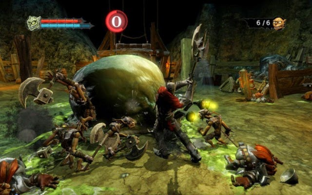 Overlord 1 PC Games Gameplay