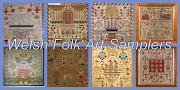Welsh Folk Art Samplers