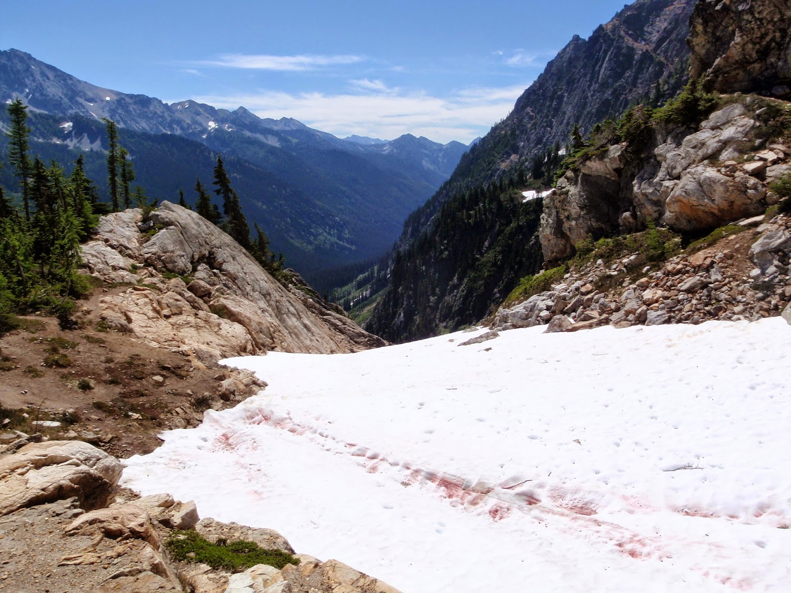 Spider Glacier with a view back out toward Spider Meadow @ Glacier Peak Wilderness