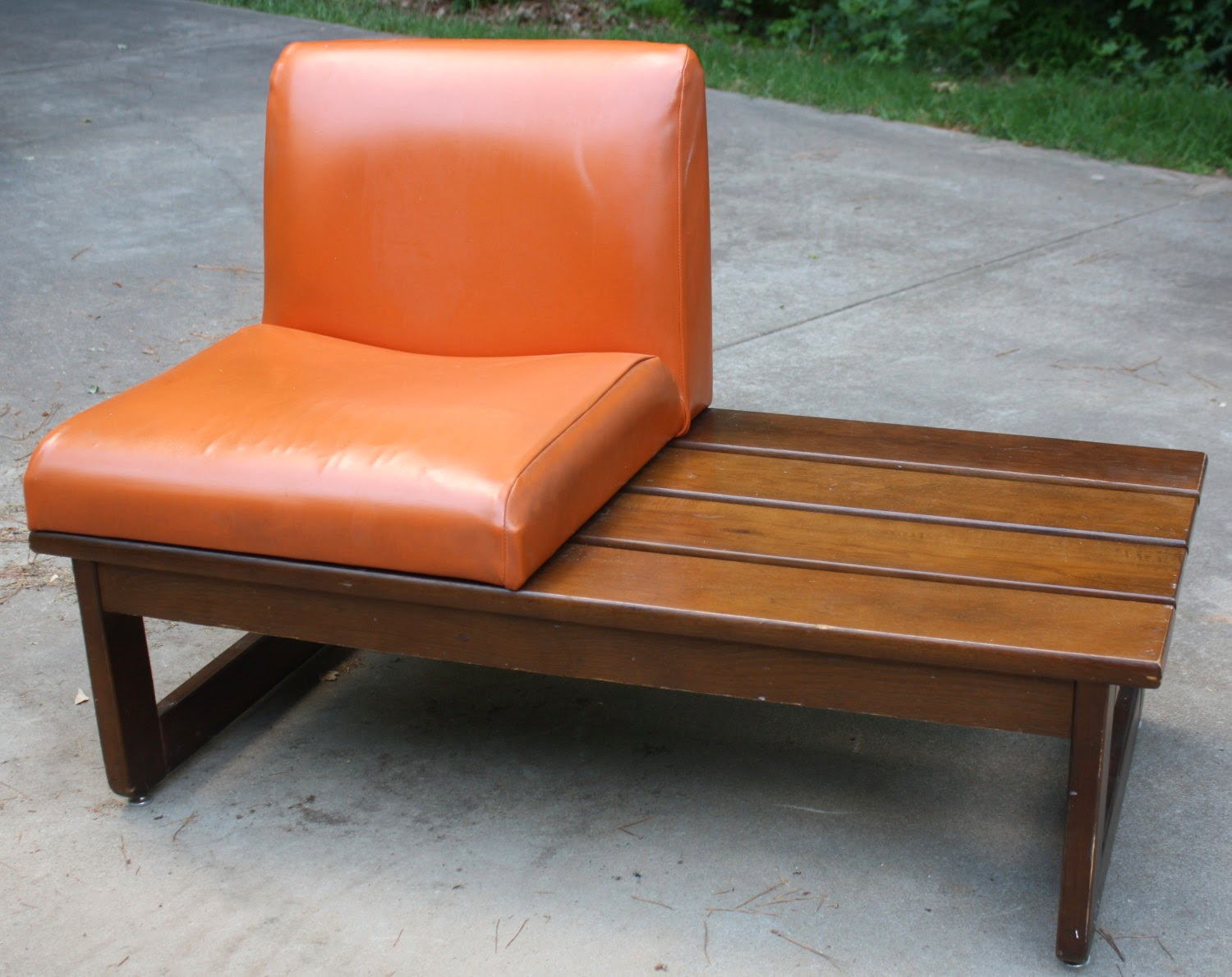 https://www.etsy.com/listing/160141125/retro-slatted-wood-bench-with-orange