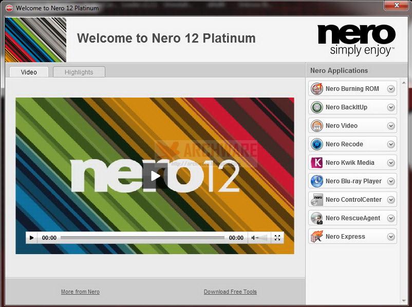 Скажите плиз ключ для nero multimedia suite platinum hd 11 2 00700.