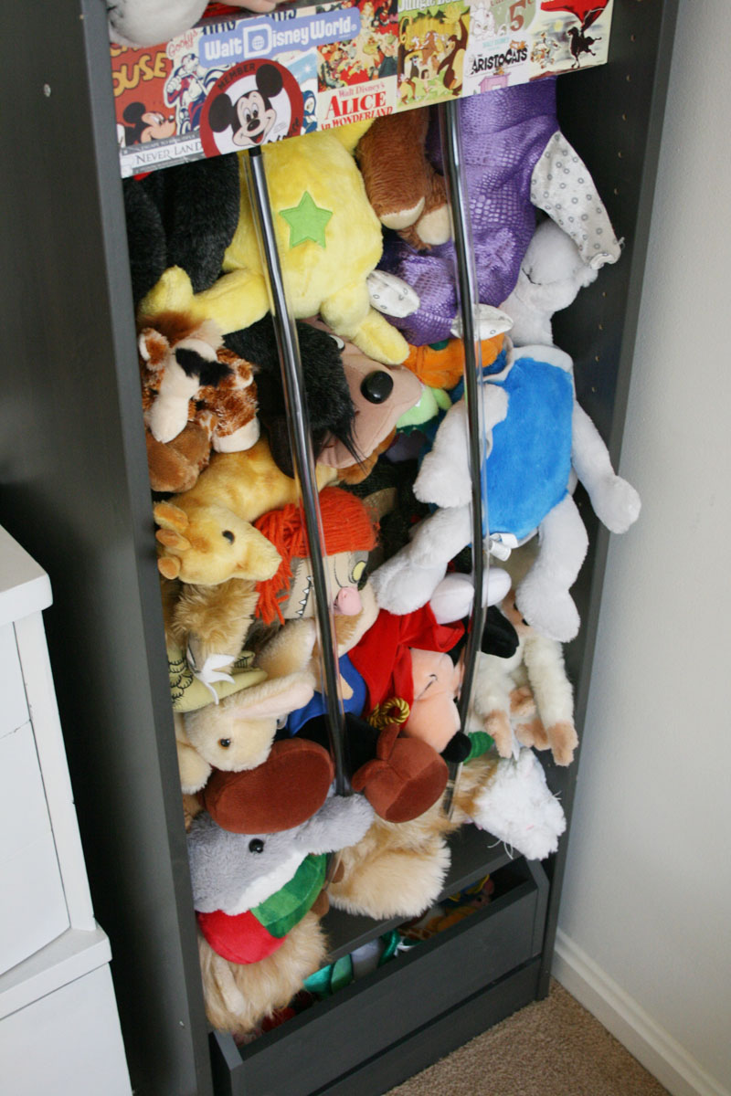 Stuffed animal toy storage listitdallas ever clever mom diy stuffed animal storage from an ikea solutioingenieria Image collections