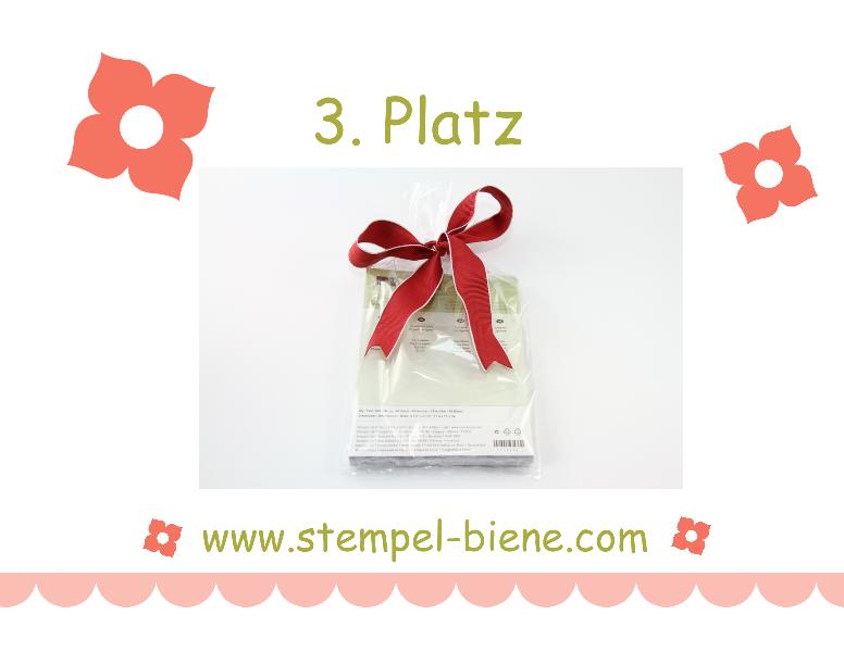 Stampin Up Blog Candy, Stempel-Bienes Geburtstags-Blog-Candy