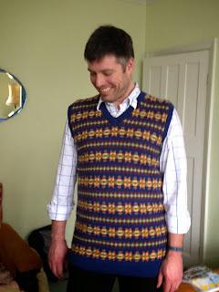 Wartime Farm Sleeveless Pullover