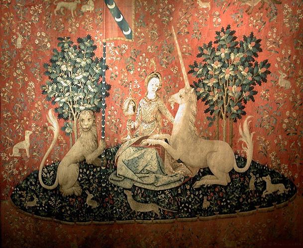 Le miroir alchimique l a t la dame la licorne - La tapisserie de la dame a la licorne ...