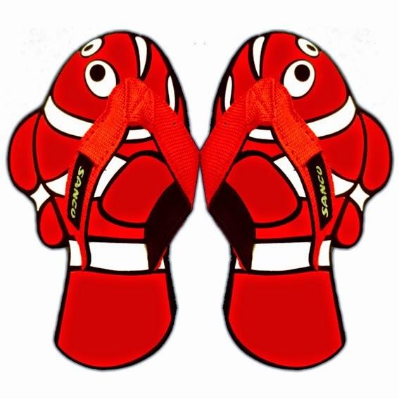 Sandal Sancu Fish