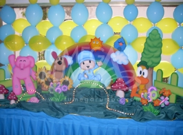 Pocoyo Decoration for Children Parties