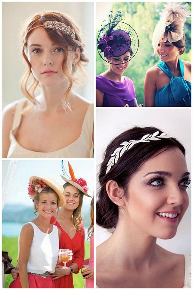 especial bodas: peinados y tocados para invitadas - mvesblog