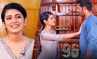 Priya Varrier Enacts the Classic 96 Ram & Jaanu Scene