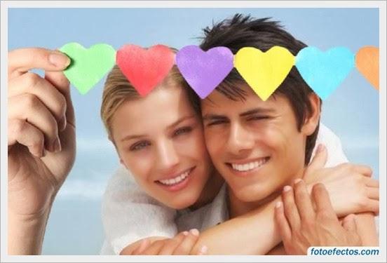 Quadro romantico casal de namorados