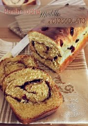 Panbrioche Mirtilli e Cioccolato