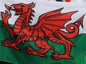 Bandera de Gales