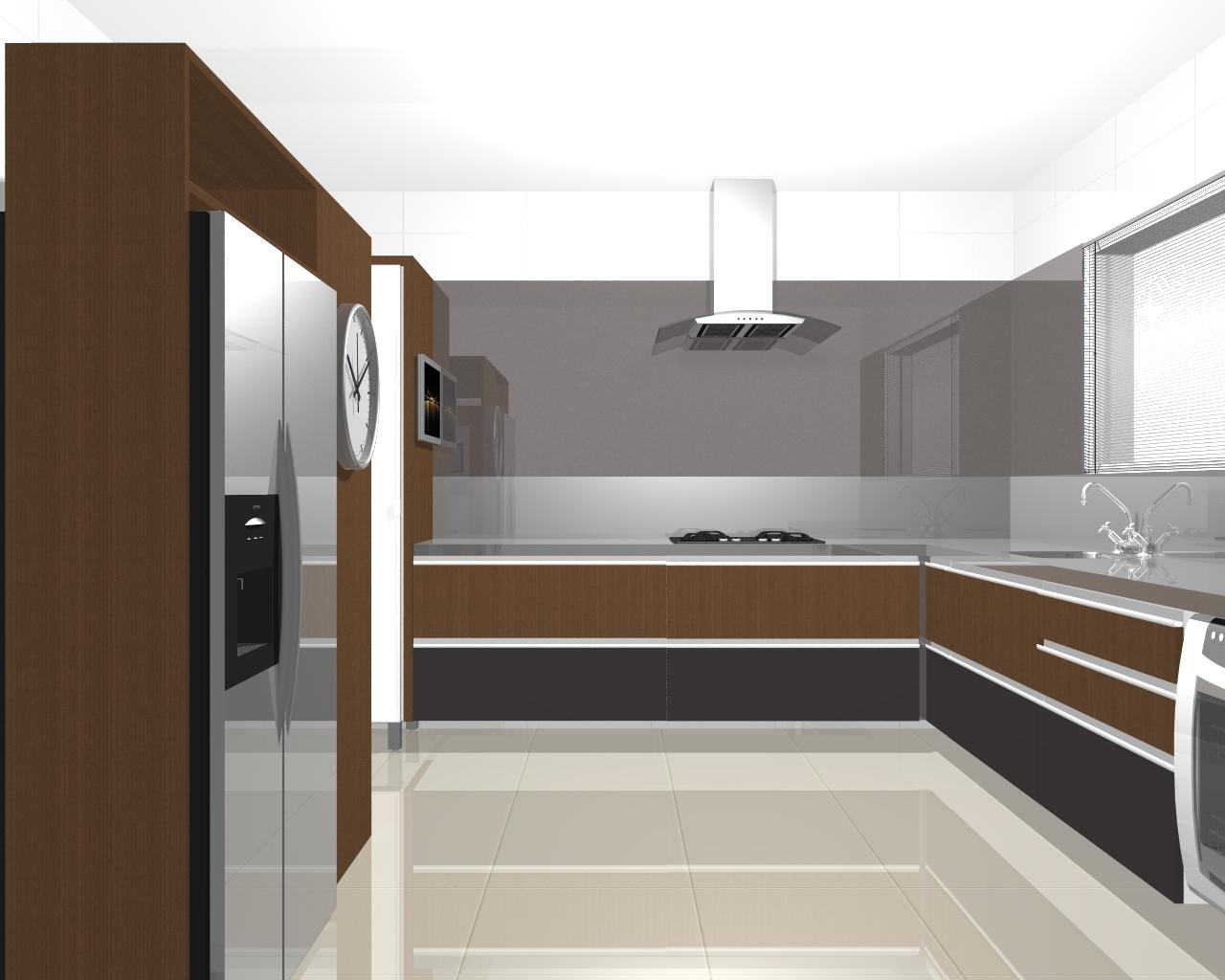 Fernanda Moschetta: Projetos de Interiores Residênciais Cozinhas #5E442F 1280 1024