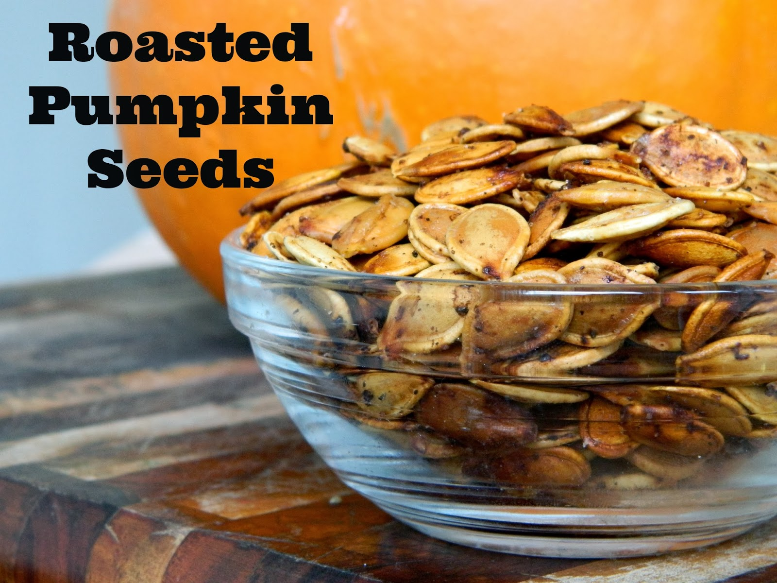 Kate & Levi: {Roasted Pumpkin Seeds}