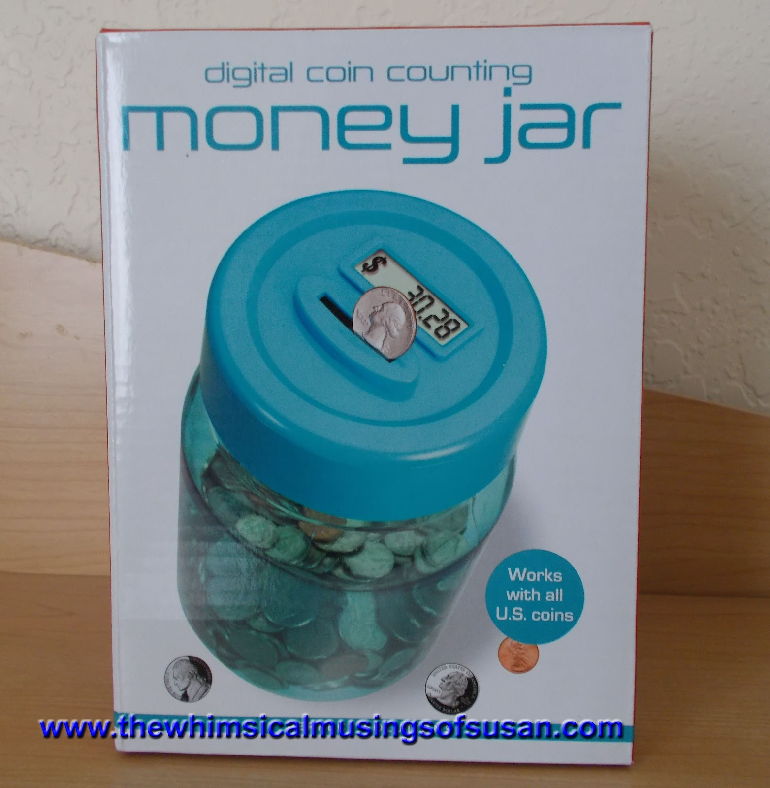 The whimsical musings of susan sears digital coin for Cute money saving jars
