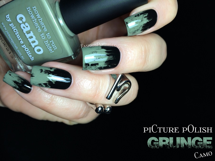 Camo Nail Art Graham Reid