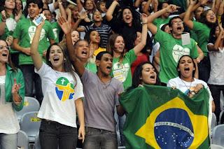 Rio, terra da beleza da juventude