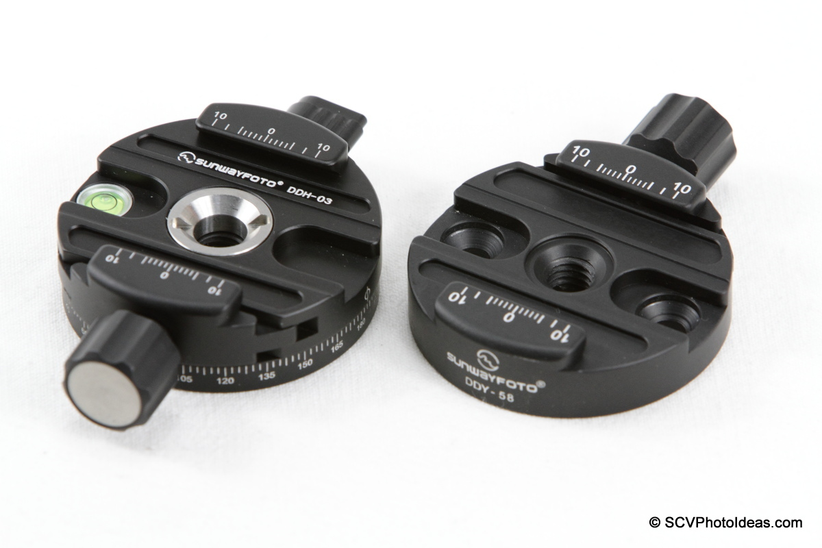 Sunwayfoto DDY-58 Discal QR Clamp w/ DDH-03 Panning Clamp