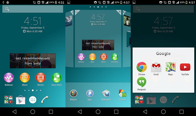 Cara Install Launcher Xperia Z3 Pada Semua Android
