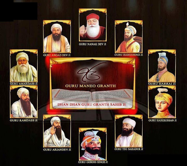 All guru's of Sikh Wallpaper
