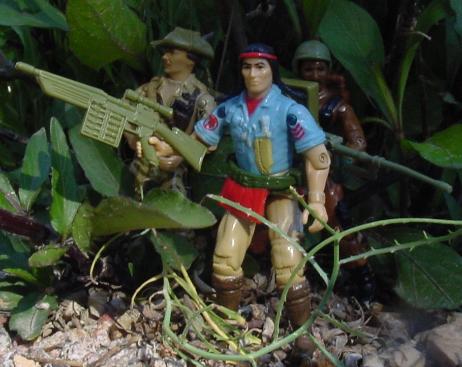 1984 Spirit Iron Knife, Recondo, Roadblock