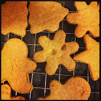 gingerbread, baking, cookies, biscuits