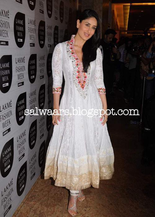 salwar from designer Manish Malhotra at Lakme Fashion Week 2011