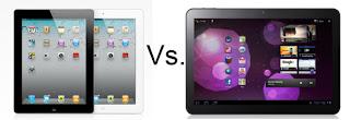Perbandingan Galaxy Tab 2 dengan Ipad 2