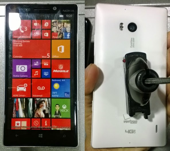 Nokia Lumia Icon dummy unit found at Fry's