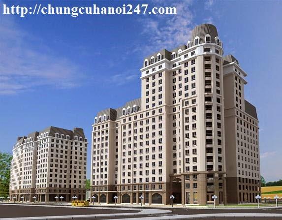 Phối cảnh toà chung cư CT3 Cổ Nhuế - Hoàng Quốc Việt Residentials