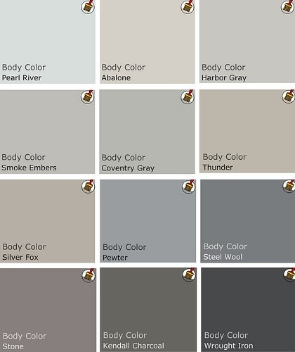Best Warm Gray Paint Color Interior Decorating Accessories