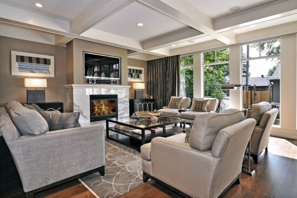 6 Awesome Relaxed Living Room Ideas | Home Decor and Design