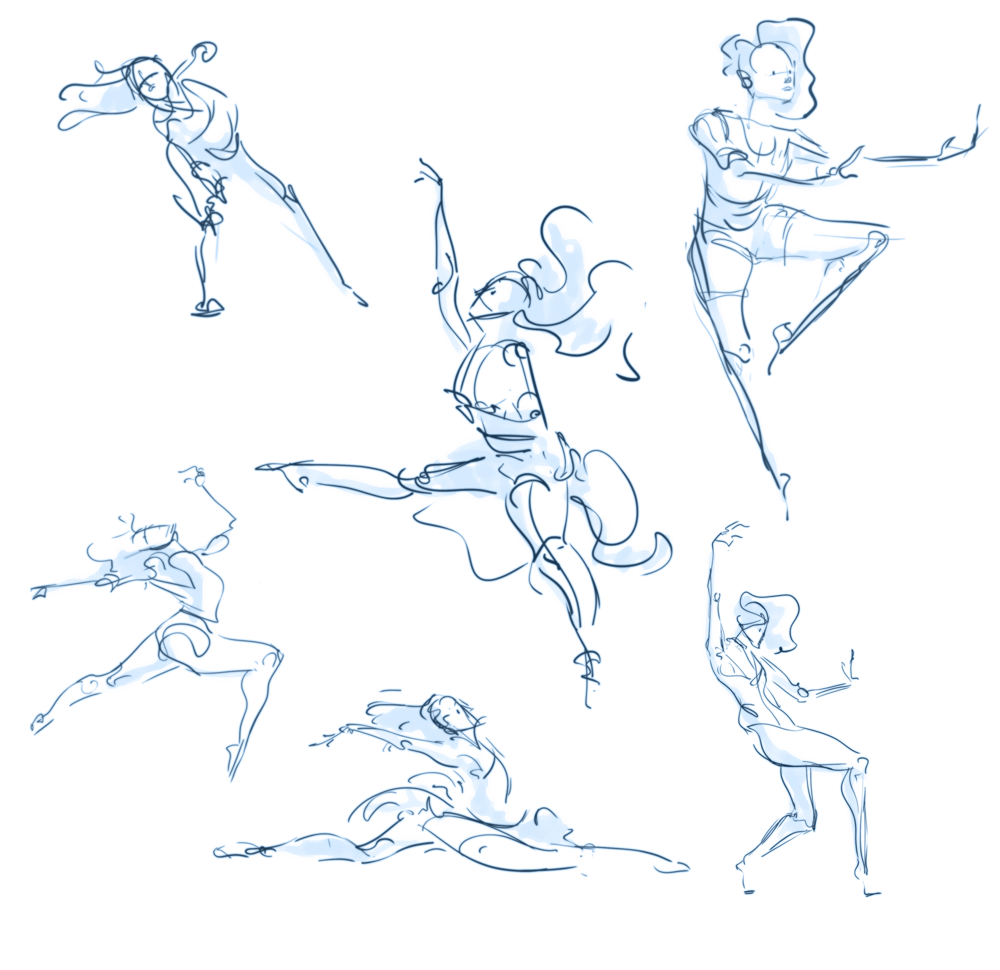 Scribble Gesture Drawing : Gesture drawing on pinterest figure anatomy and