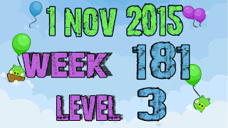 Angry Birds Friends Tournament level 3 Week 181