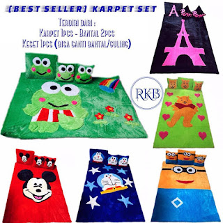 [BEST SELLER] PRODUSEN KARPET FULL SET ANEKA MOTIF