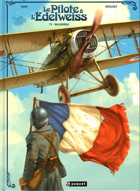 Le Pilote à l'Edelweiss - Walburga.Yann-Hugault