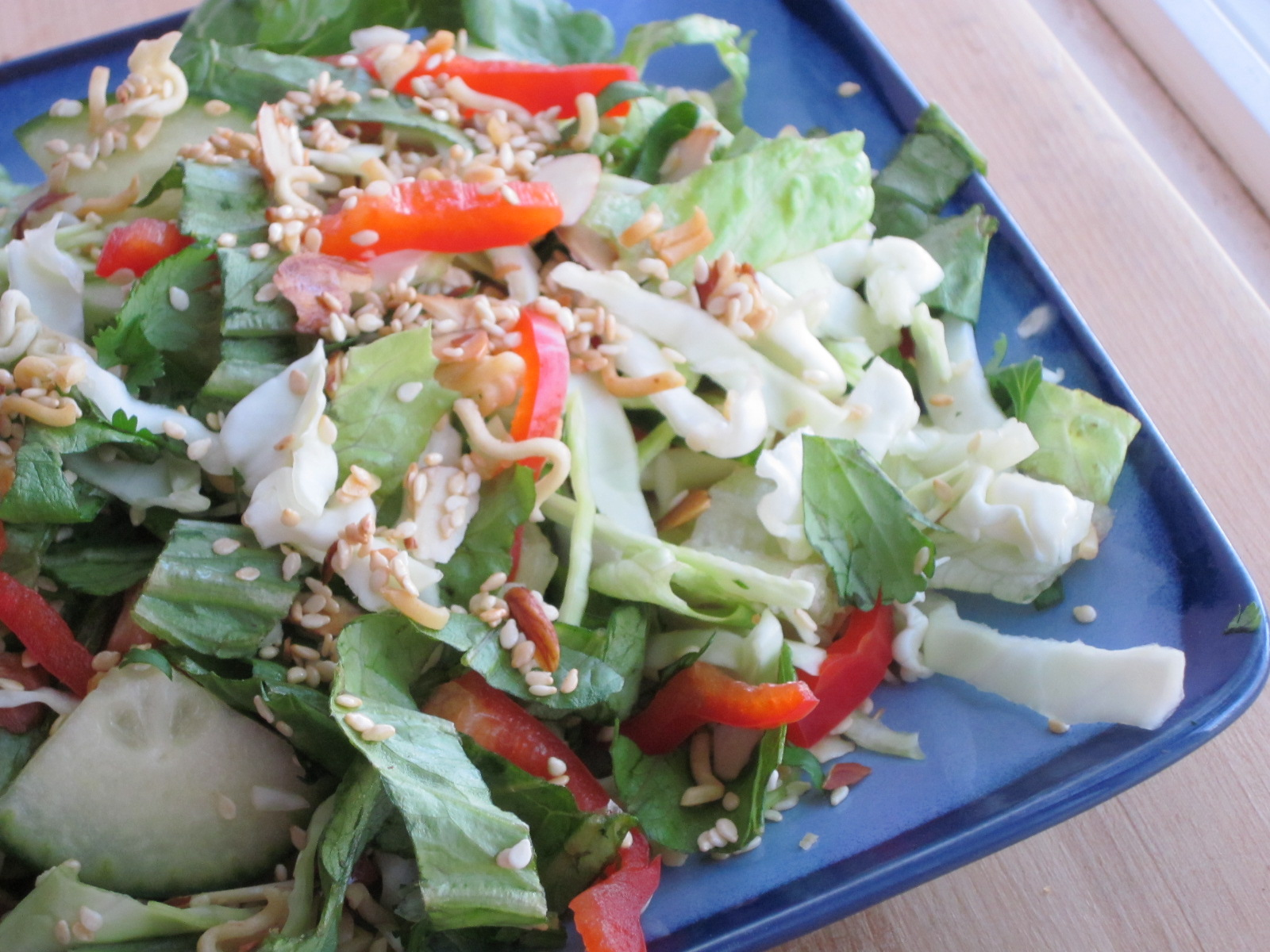 Sweet Luvin' In The Kitchen: Crunchy Asian Salad