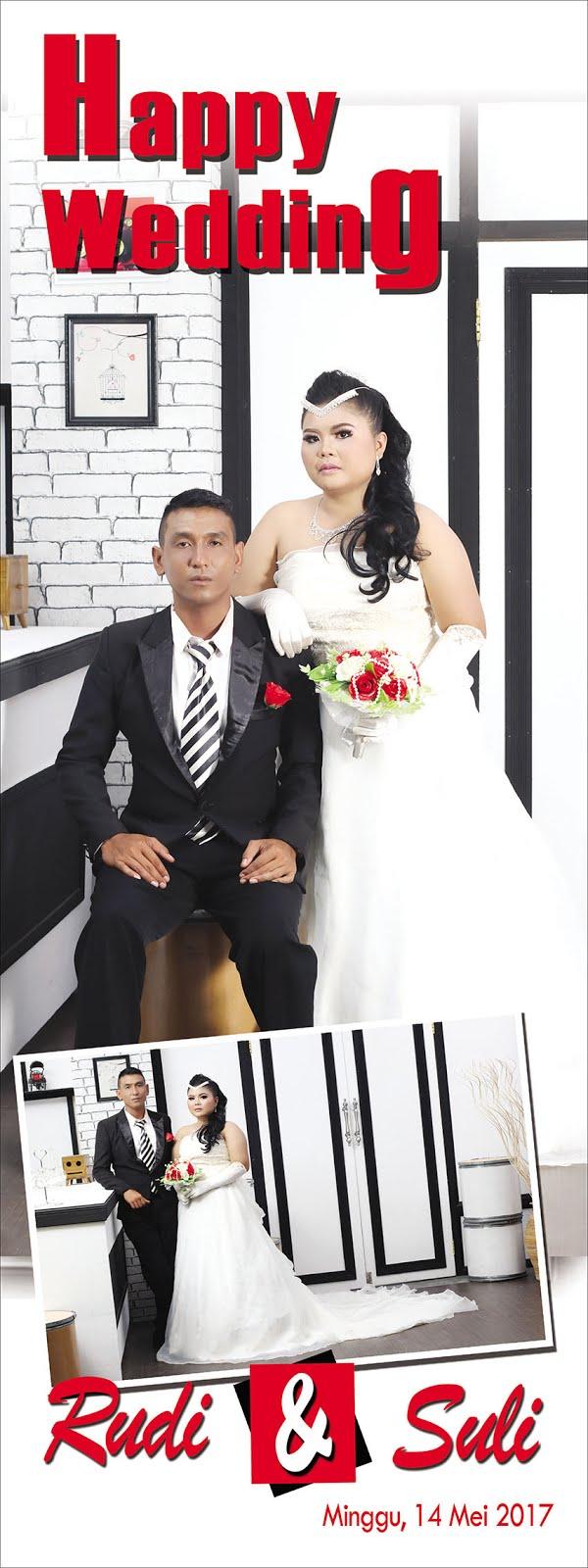 Design x banner pernikahan - Desain X Banner Wedding Bag 1