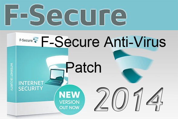 F-Secure AntiVirus 2015 Patch License Key Portable Crack Free