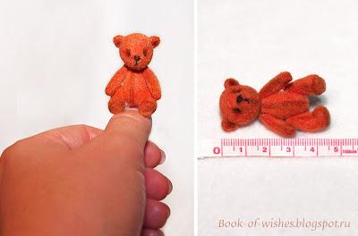 мини-мишка 4,5 см